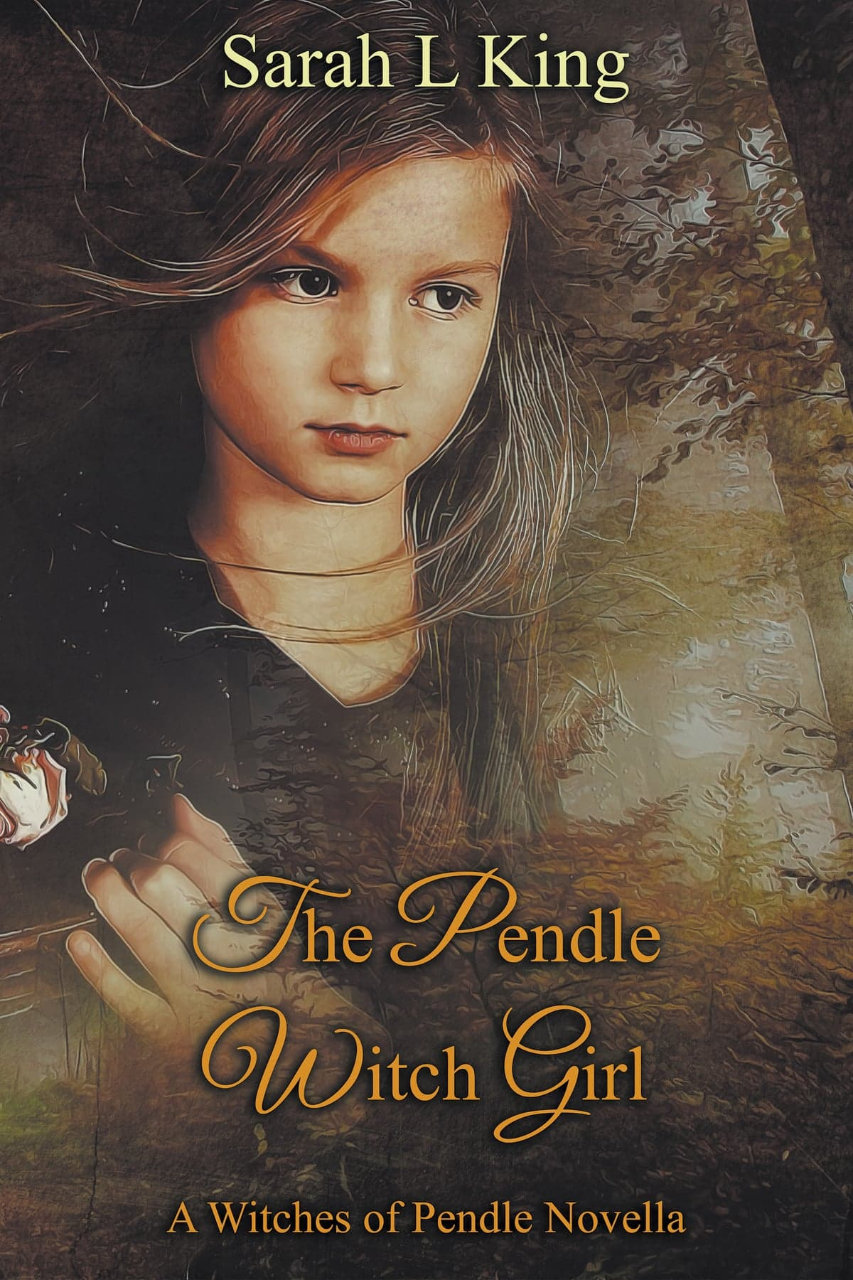 The Pendle Witch Girl